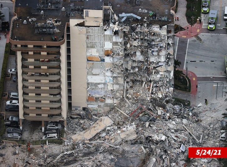 The southern Champlain towers collapse