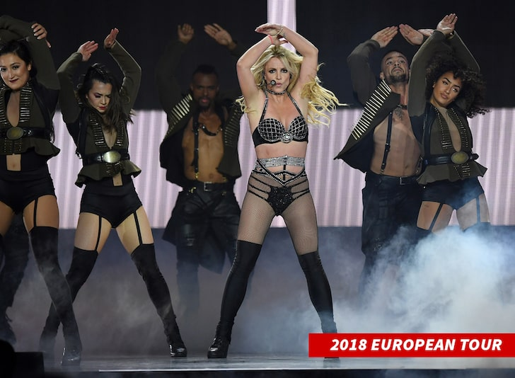britney tour in europe
