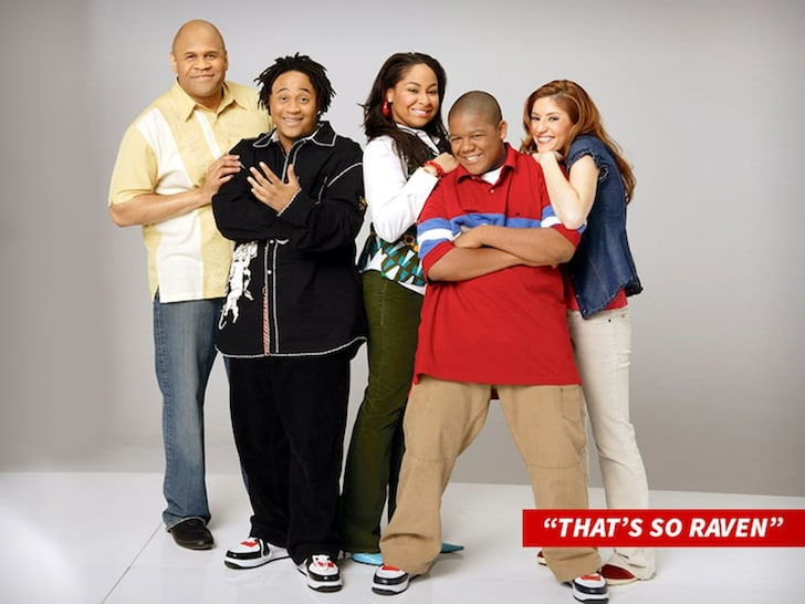 This is the cast of So Raven