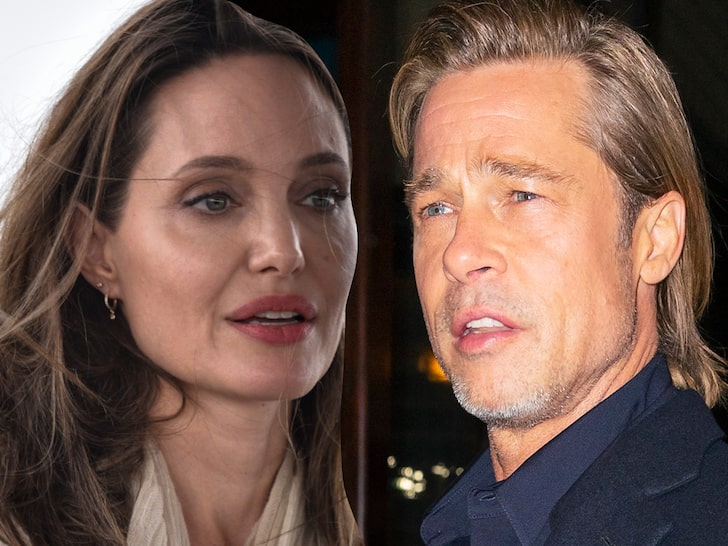Angelina Jolie goes to court with Brad Pitt to finalize the divorce