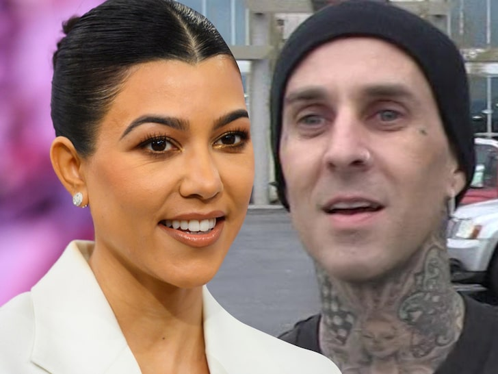 Kourtney and Travis are not engaged