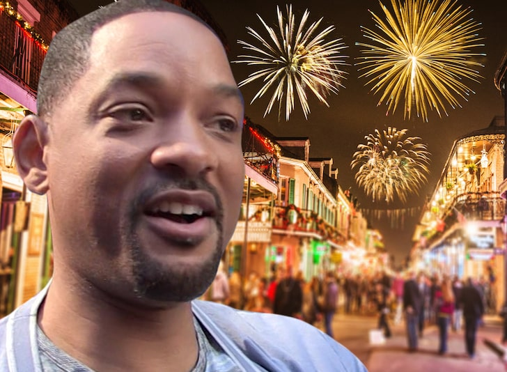 Will Smith buys fireworks in New Orleans